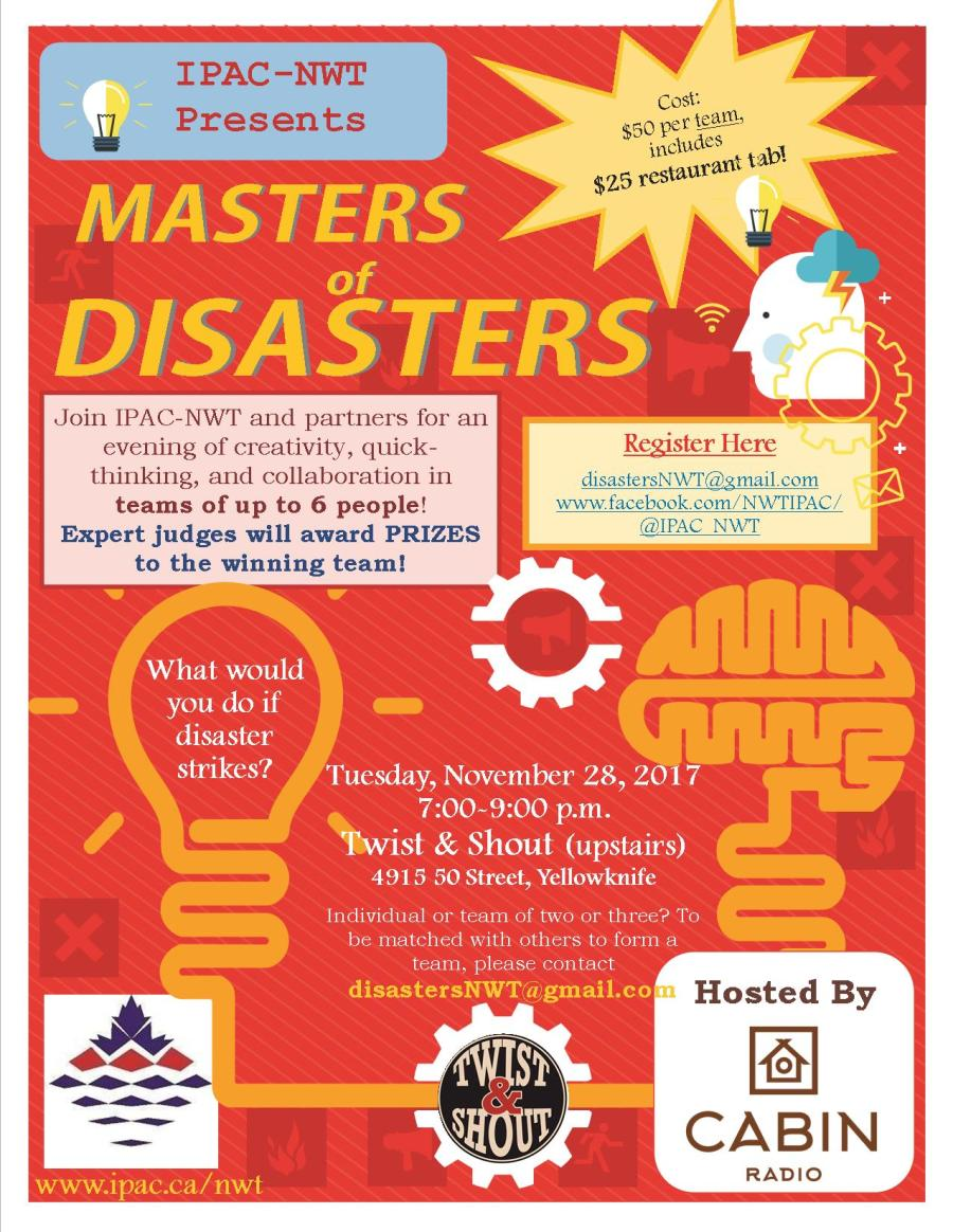 Masters of Disasters Poster